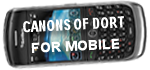 Canons of Dort for Mobile Devices