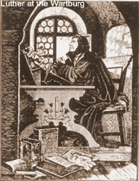 Luther at the Wartenberg